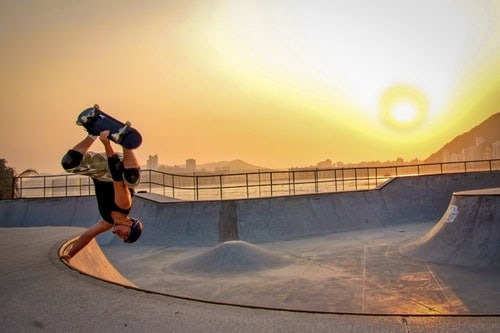 How do Pro Skateboarders Practice?