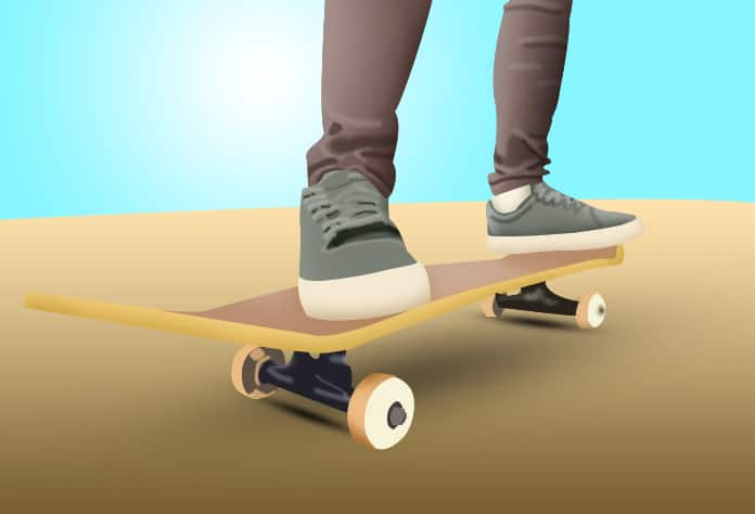 Where to Stand on a Skateboard